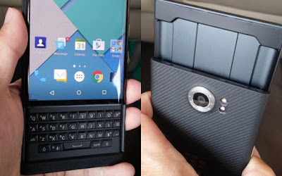Android-powered BlackBerry Priv
