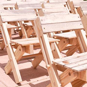 El Fast Wood Festival es un workshop de construcción de madera