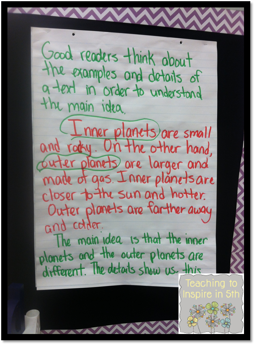 Teaching Main Idea Of Nonfiction Text 3 Different Ways Teaching