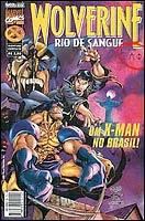Capa de Wolverine - Rio de Sangue