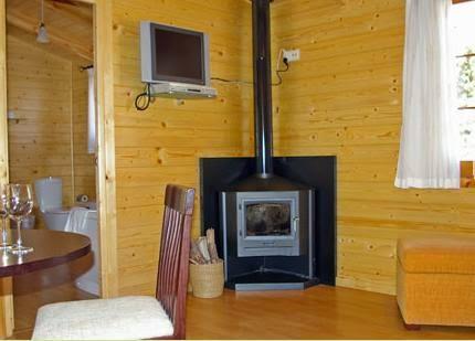 Interiores de casas de madera prefabricadas - Interiores casas de madera ...