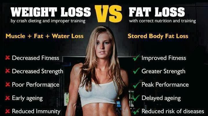 Difference Between Water Weight And Fat Loss 1