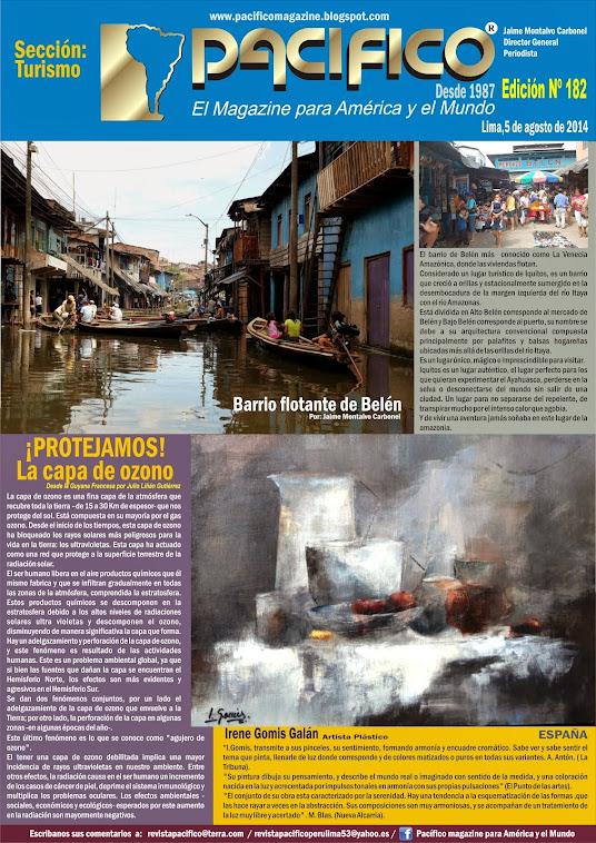 Revista Pacífico Nº 182 Turismo