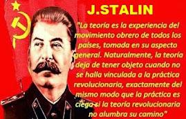 El camarada Stalin sobre el método leninista