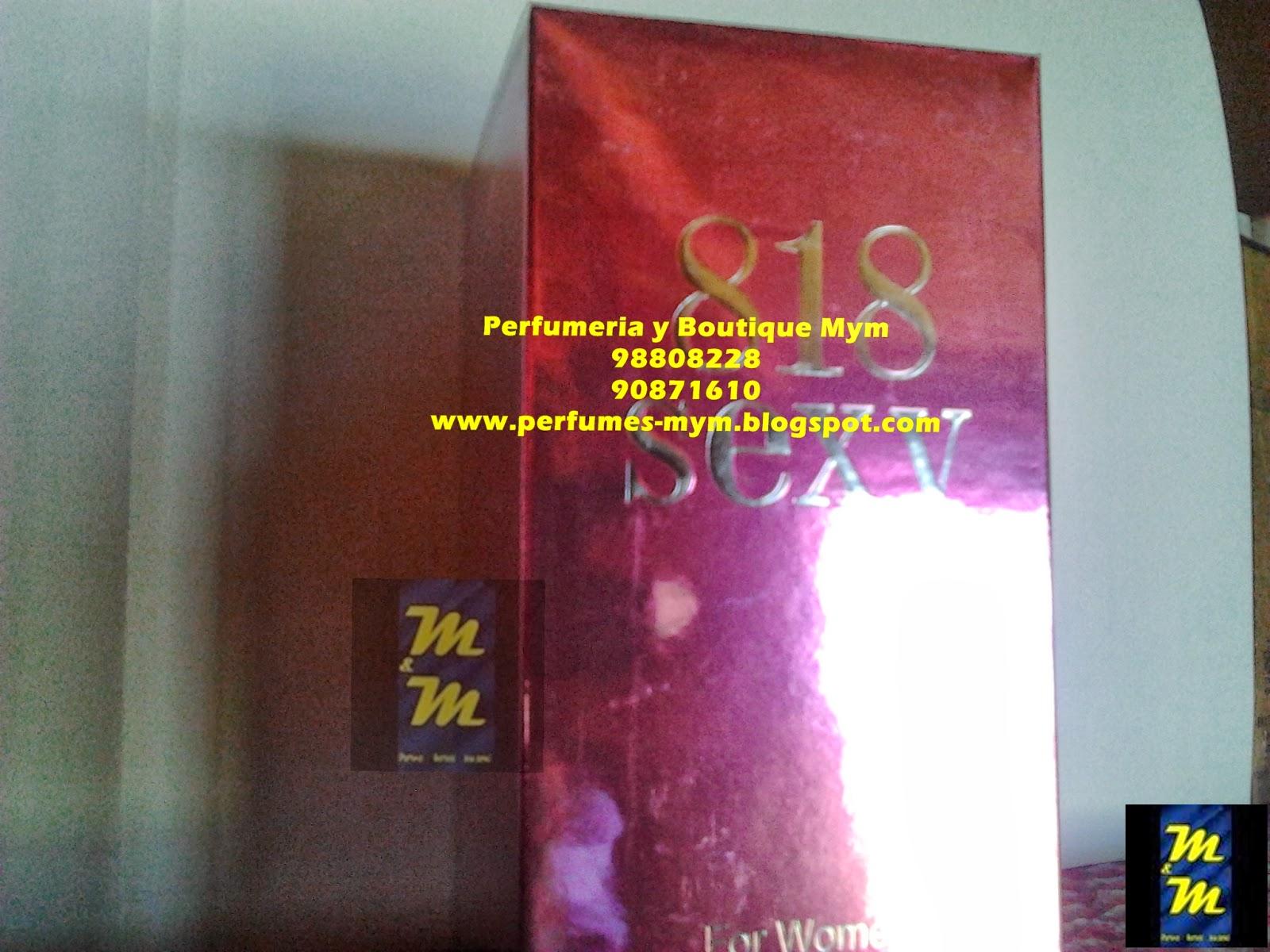 PERFUME 818 SEXY PARA MUJERES