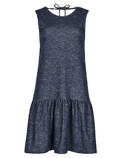 Marks and Spencer Limited Edition Pure Cotton Drop Waist Dress