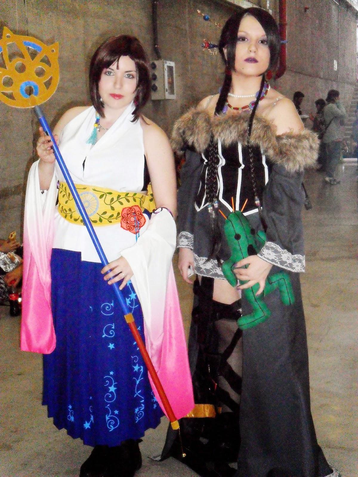 cosplay yuna lulu