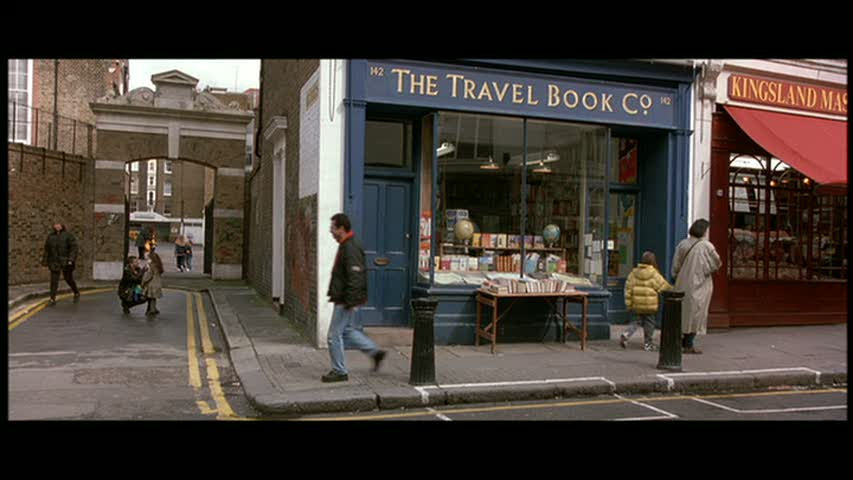 Filming locations notting hill travel book shop for House notting hill