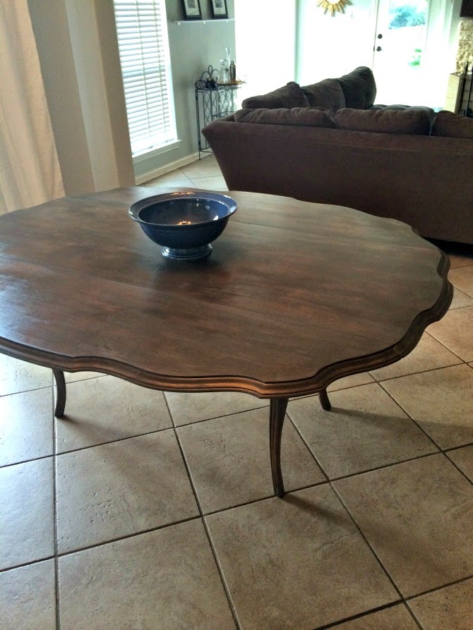 The Holland House: Scalloped Edge Dining Table