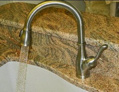 delta faucet 9178 delta faucet 9178ardst leland single handle pulldown kitchen faucet arctic stainless picture