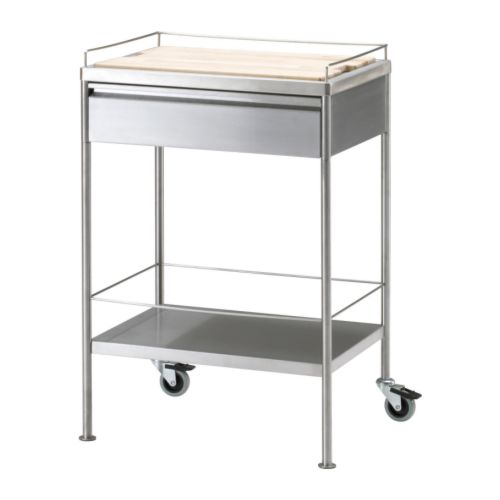 Ikea Keuken Trolley : Rolling Kitchen Cart IKEA