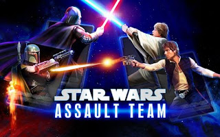 Screenshots of the Star wars: Assault team for Android tablet, phone.
