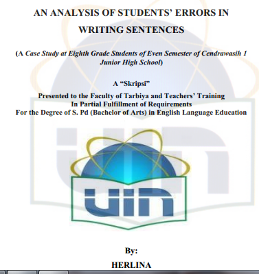 college english writing errors and analysis Sunway college journal 1, 83–97  this paper examines the errors committed by second language learners in english essay writing  explicit analysis of errors.