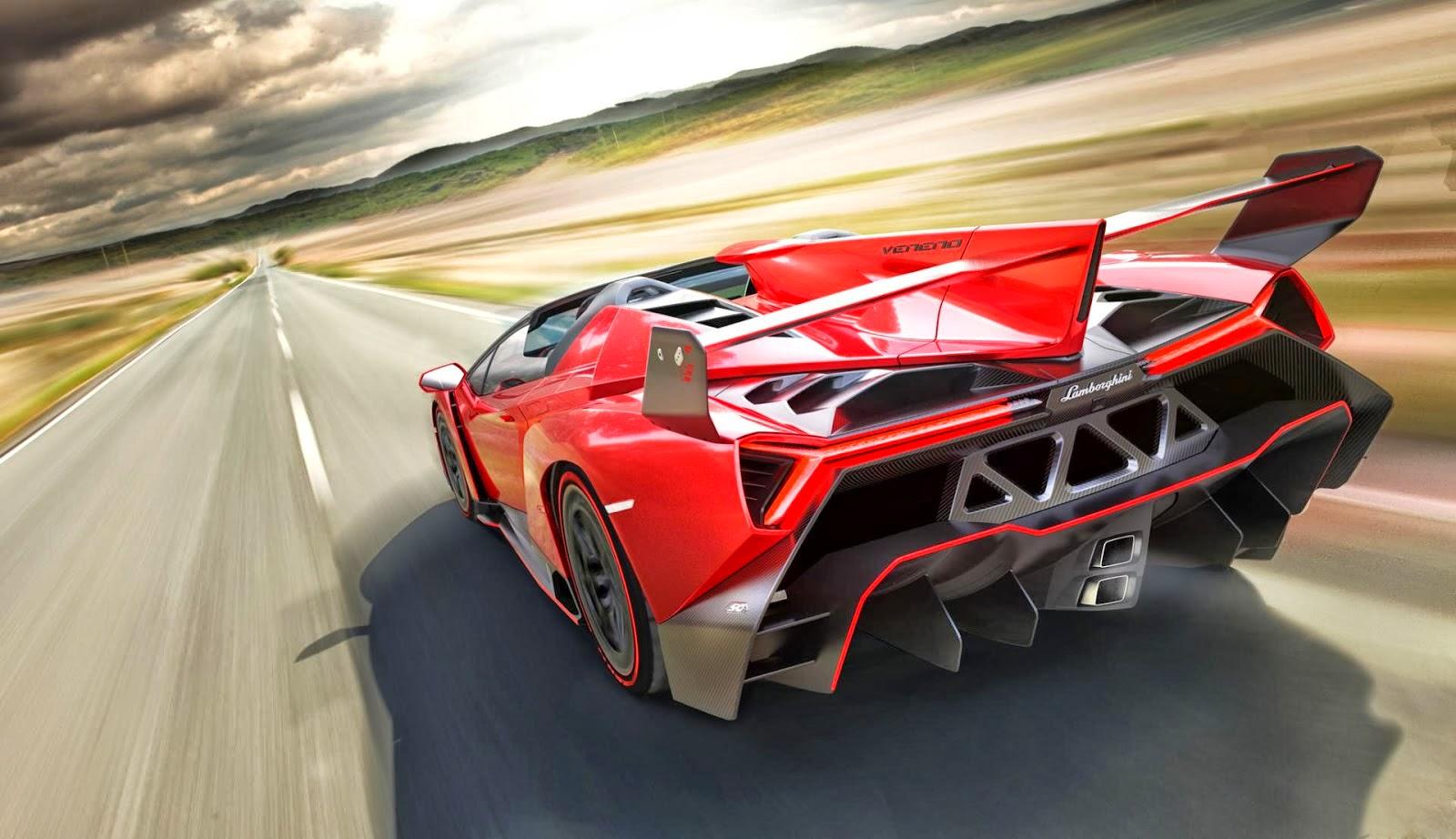 Lamborghini Veneno Roadster 2013