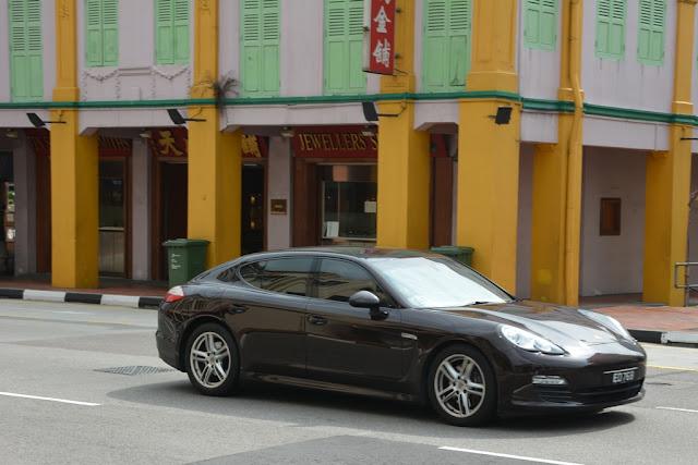 Singapore Porsche Panamera
