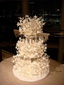Unique Wedding Cake Ideas - Starry Wedding Cake