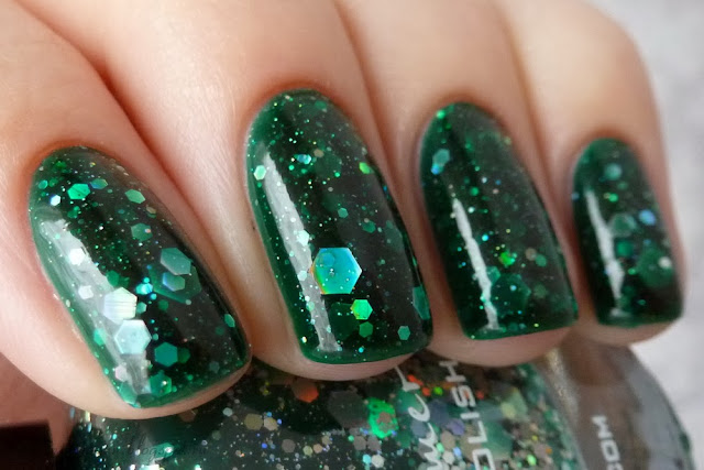 KBShimmer Green hex and glam