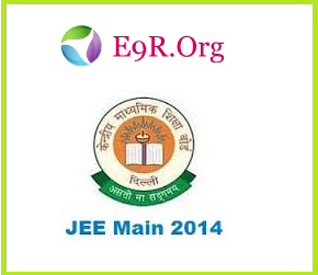 CBSE JEE Main Results 2014 with Score and Rank Card