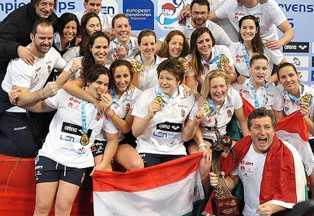 Hungary - European Champion Women, Belgrade 2016