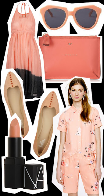 Get the look Peach accessories for the summer 2013 season