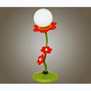 Desain Lampu Tidur Anak Bentuk Bunga
