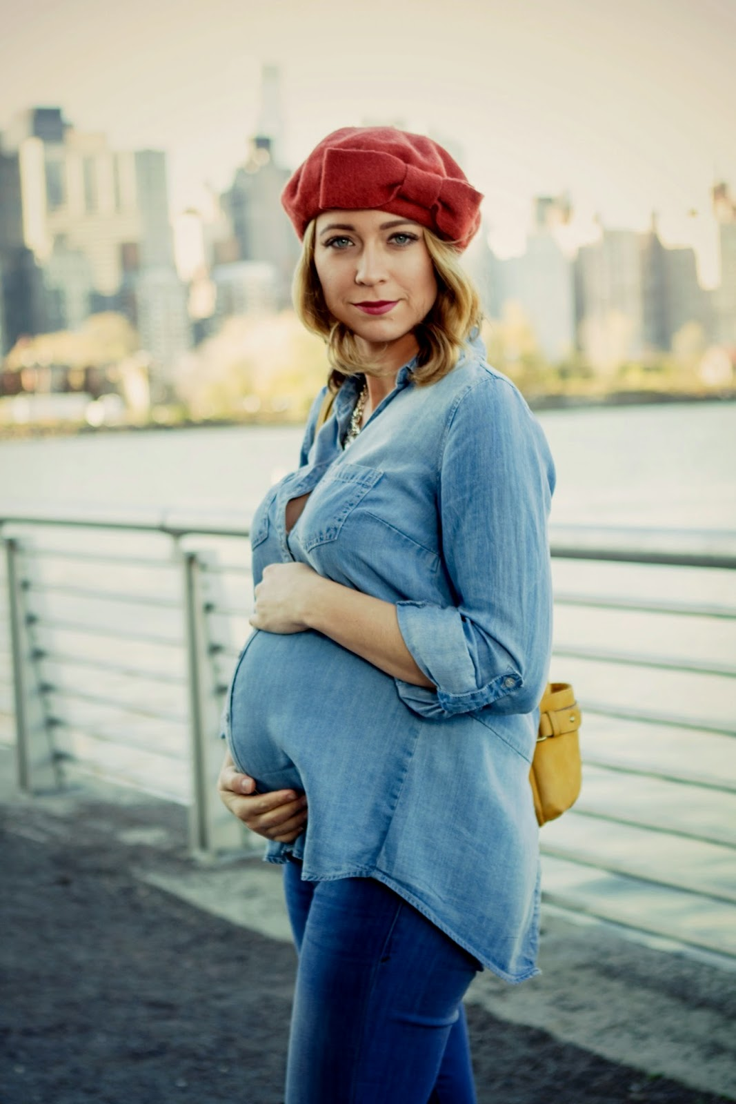 Her name is sylvia october 2014 i paired my favorite gap jeans with this cute wendy bellissimo denim top which i got from motherhood maternity i decided to dress this denim outfit up ombrellifo Choice Image