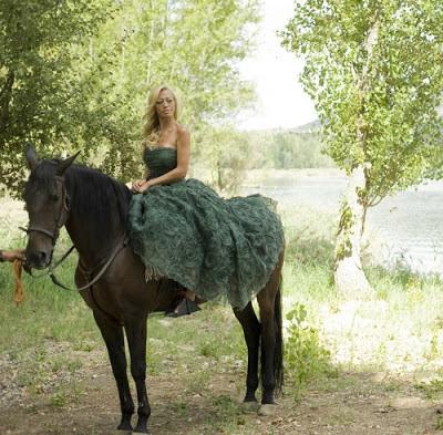 posado belen esteban caballo