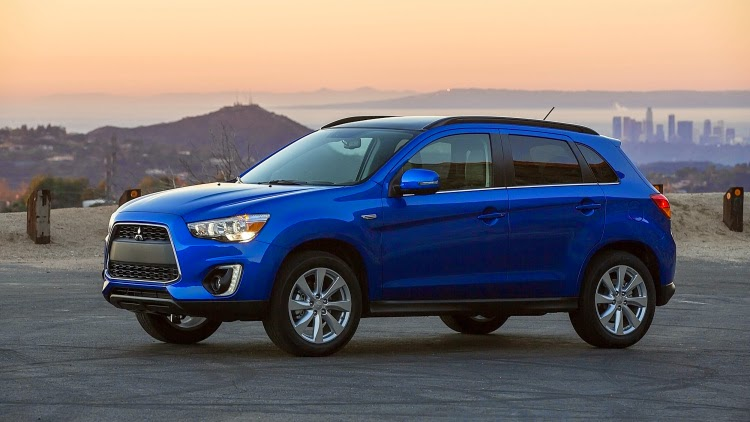 2015 Mitsubishi Outlander Sport with 2.4 liter engine