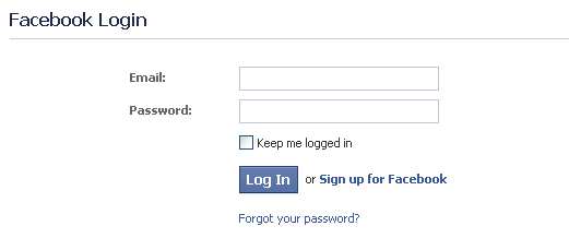 Facebook Login Masuk FB