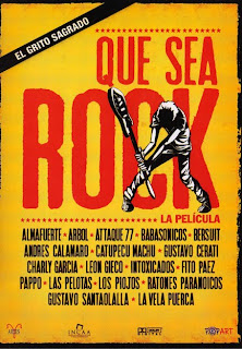 Que sea rock: documental sobre el rock argentino.