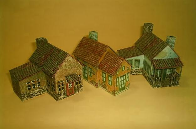 Country House Papercrafts Papercraft Paradise PaperCrafts Paper