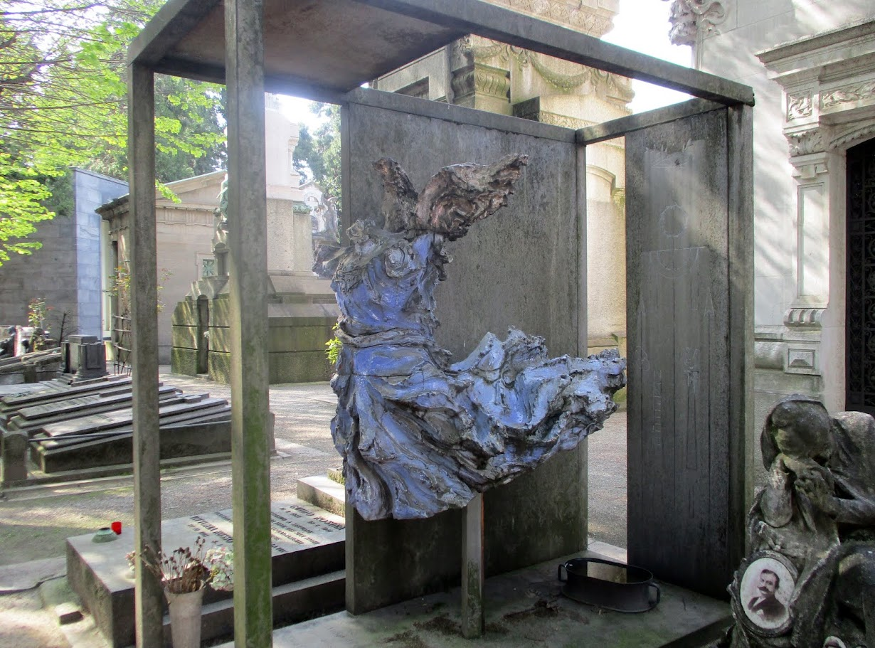 2018- MILAN -MONUMENTALE CEMETERY