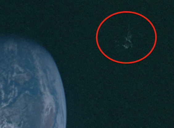 Black Knight Satellite Found In NASA Apollo 10 Photo