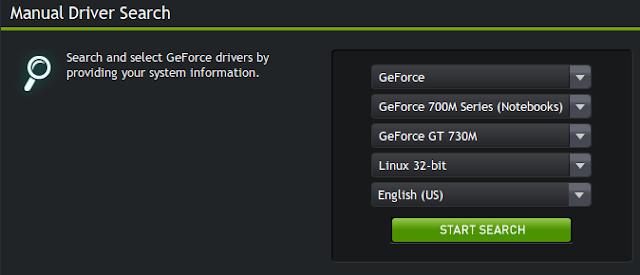 Driver nVidia Linux