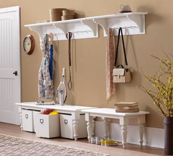 ma maison au naturel des id es pour organiser son hall d. Black Bedroom Furniture Sets. Home Design Ideas