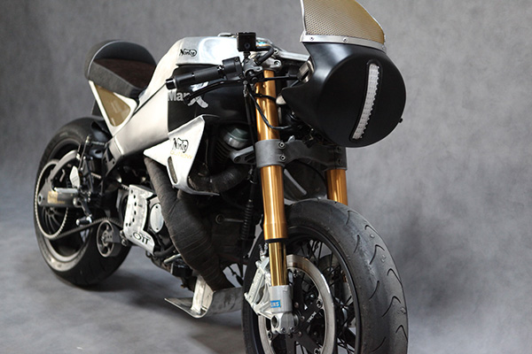 Buell Norton Manx Neoretro | Norton Manx Racer | Buell Norton Manx | Norton Cafe racer | way2speed.com