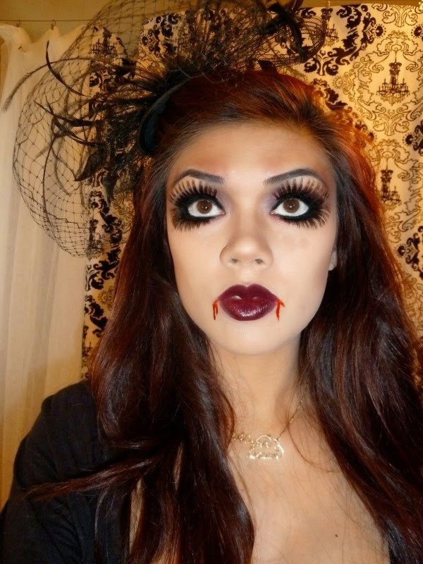 simple halloween face makeup ideas