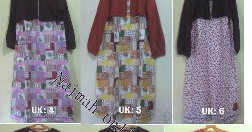 Fashion Katalog Gamis Baju Anak Oka Oke Modern