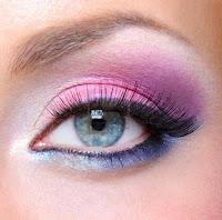 ojo maquilado colorido