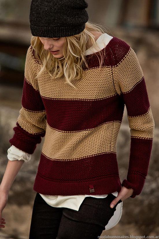 Tannery moda casual urbana invierno 2015 mujer.