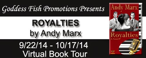 http://goddessfishpromotions.blogspot.com/2014/08/virtual-book-tour-royalties-by-andy-marx.html