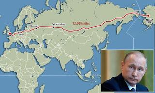 Αυτό είναι το σχέδιο του Πούτιν για να εξαπλωθεί στον κόσμο: Νέος σιδηρόδρομος 20.000 χλμ που φτάνει μέχρι την Αμερική!