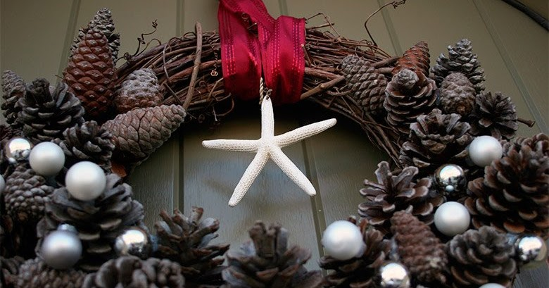 Hogar 10 decoraci n del hogar para navidad pi as secas for Decoracion del hogar en navidad