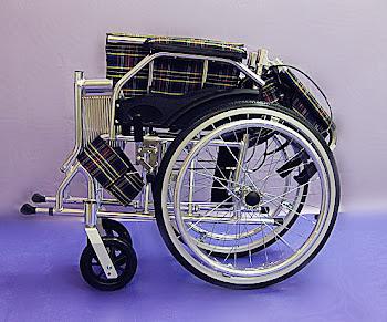 Aluminium super lightweight wheelchair foldable backrest <> 11.5kg KY