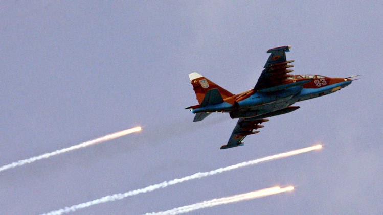 Ukraine says 2 fighter jets may have been shot down by missiles from Russia