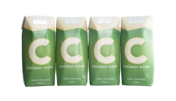 C Coconut Water On Packaging Of The World Creative