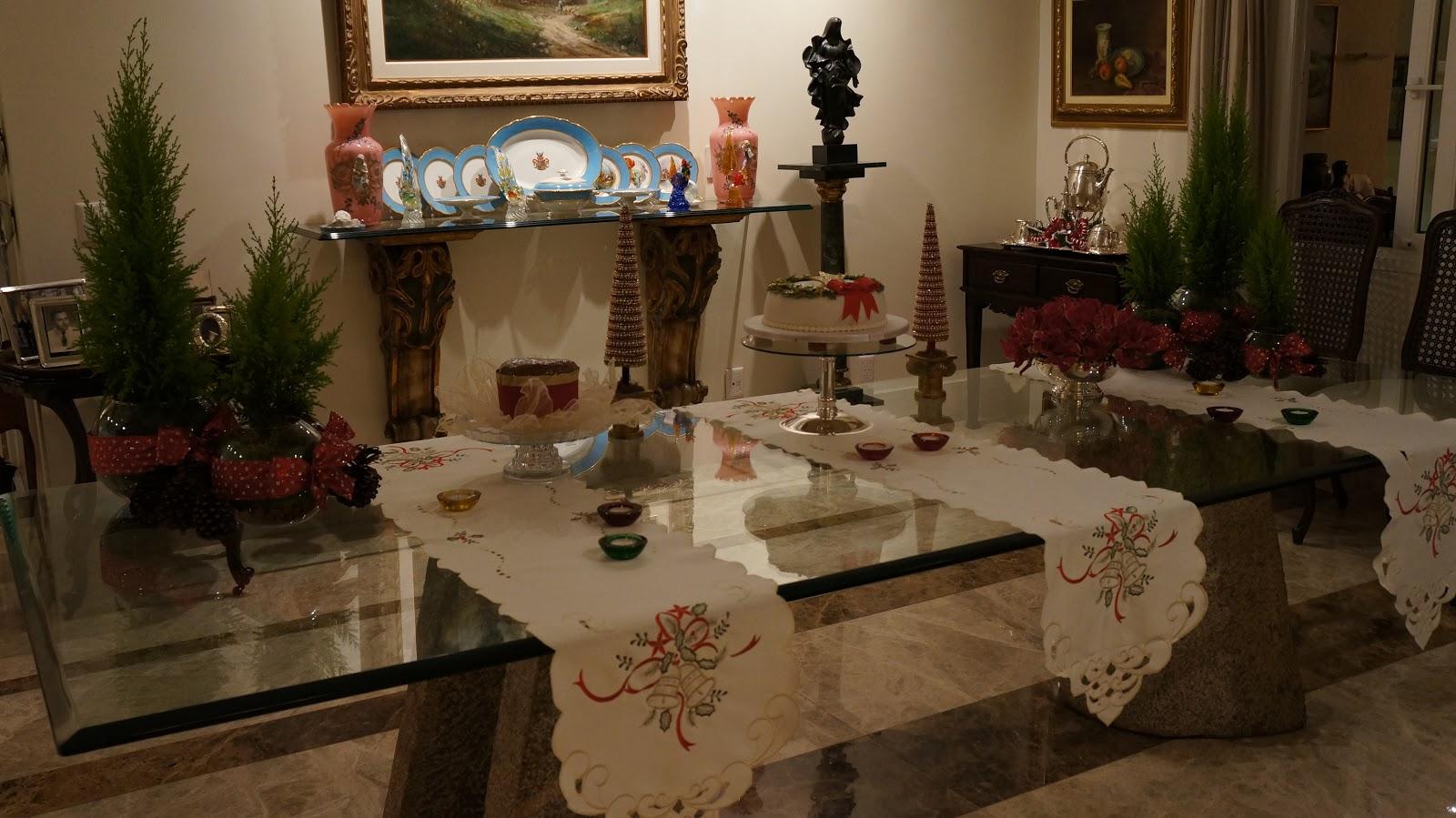 mais uma opção de decoração para um natal clássico e tradicional