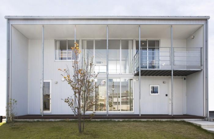 Minimalist Japanese Prefab House | House Architecture Interior ...