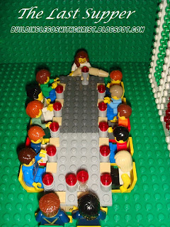 Biblical Lego Creations, LEGO Last Supper