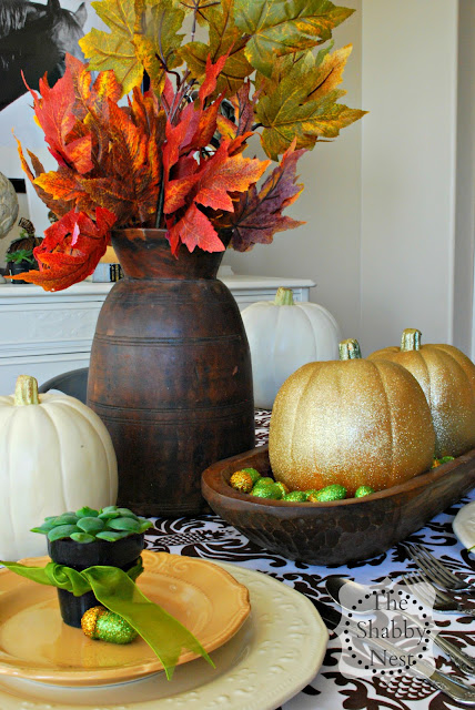 Fall Tablescape by The Shabby Nest